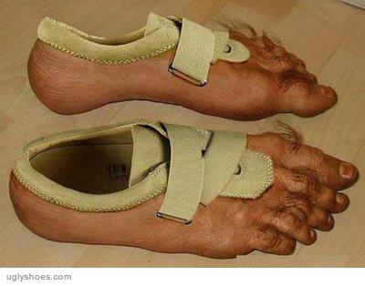 buty imitujące stopy