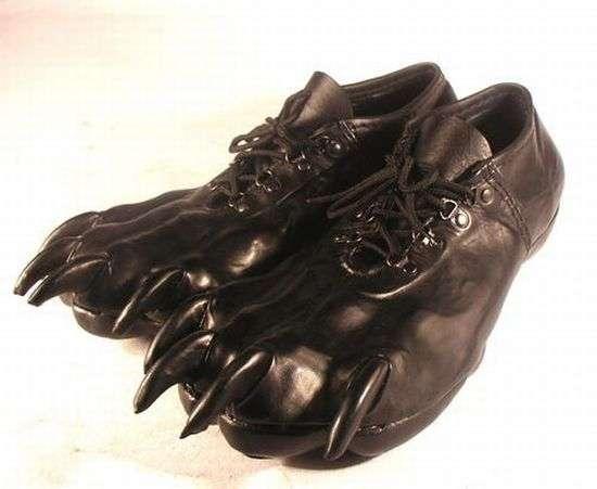 buty z pazurami